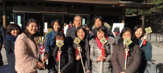レゾナンスCafe特別企画『紅龍さんと行く、明治神宮昇殿参拝』開催報告