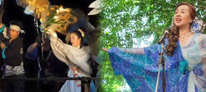 金澤神社での奉納歌舞